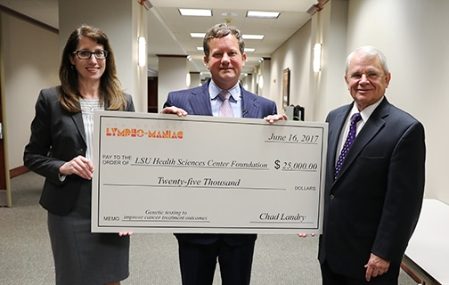 New Orleans Lympho-Maniacs Donate $90,000 to Local Cancer Causes